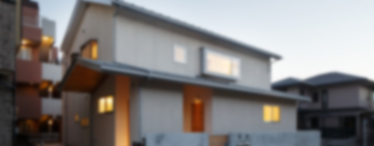 アトリエ スピノザ Casas de estilo escandinavo