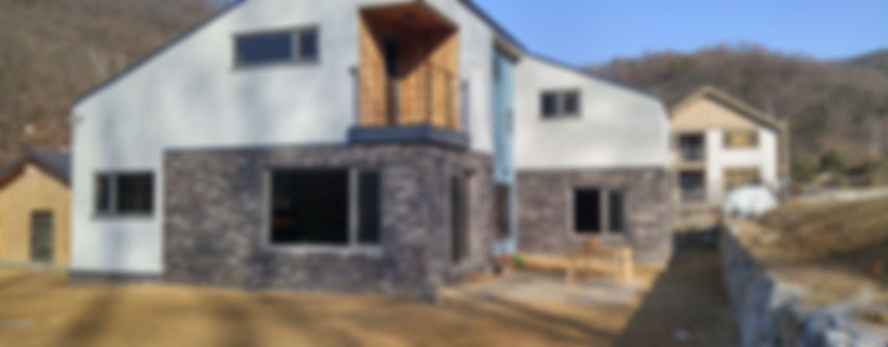 봄 하우스플랜 Modern houses
