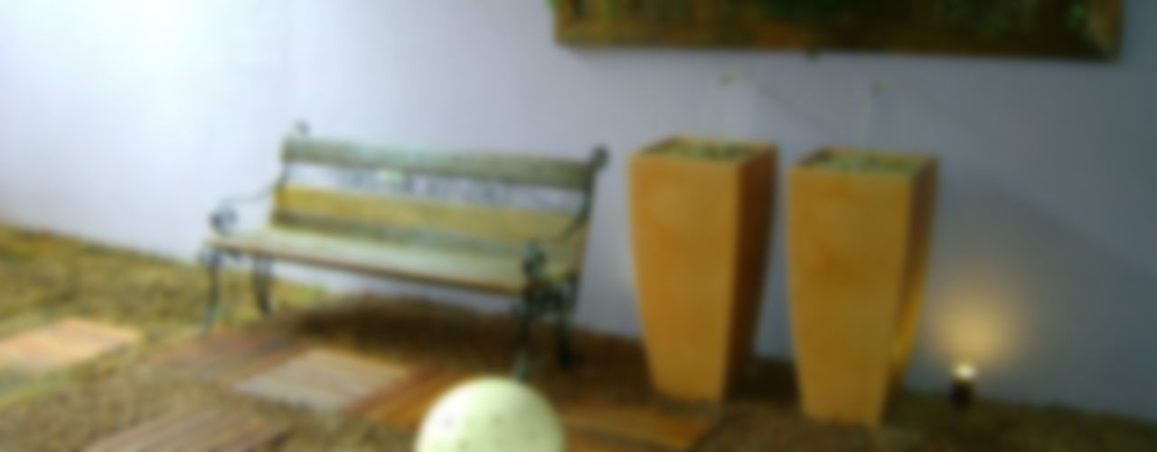 MC3 Arquitetura . Paisagismo . Interiores Rustic style conservatory