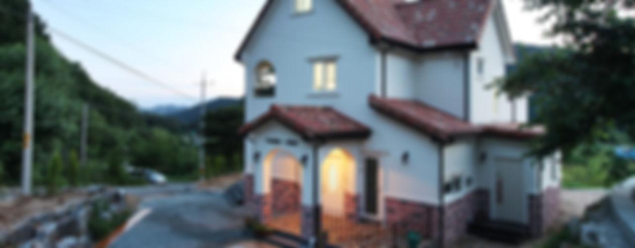 동화속 나만의 공간 [안성 미산리] 윤성하우징 지중해스타일 주택