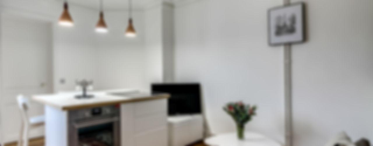 Transition Interior Design Dapur Modern White