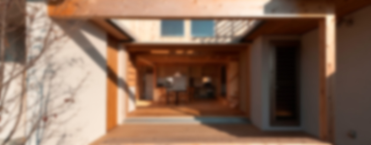 AMI ENVIRONMENT DESIGN/アミ環境デザイン Balkon, Beranda & Teras Gaya Asia