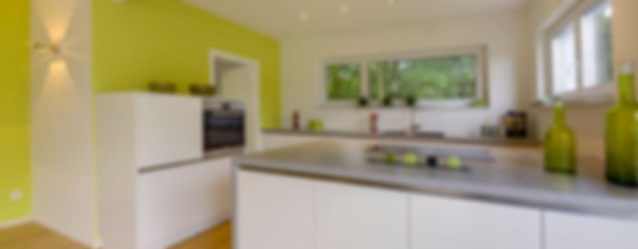 Musterhaus Bad Vilbel Skapetze Lichtmacher Modern Kitchen