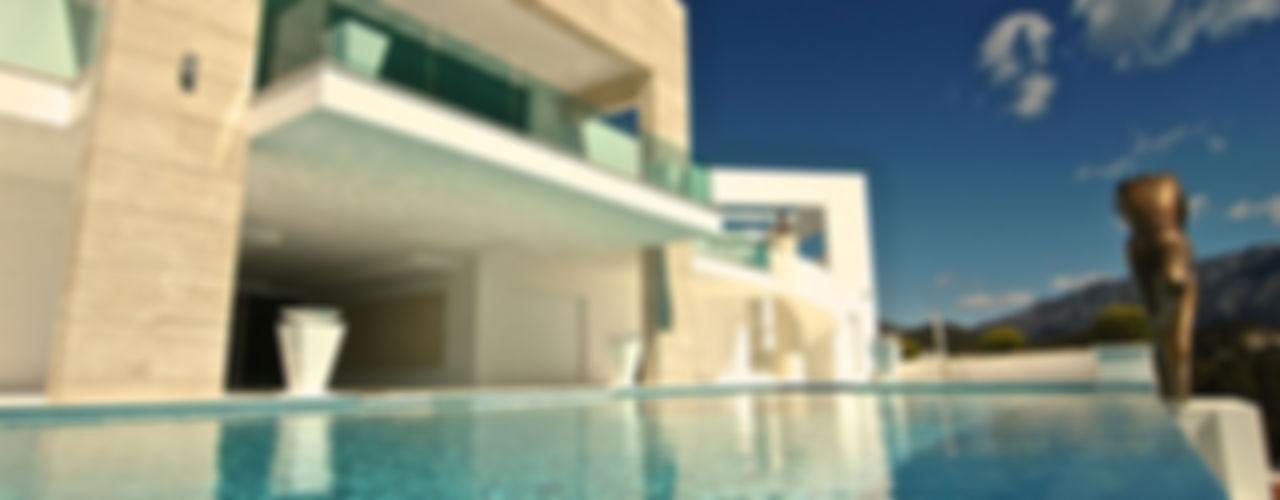 MANSION DESIGN Modern pool