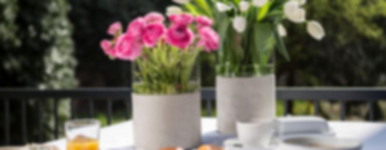 Further concrete accessories Betoniu GmbH بلكونات وشرفاتنباتات و زهور