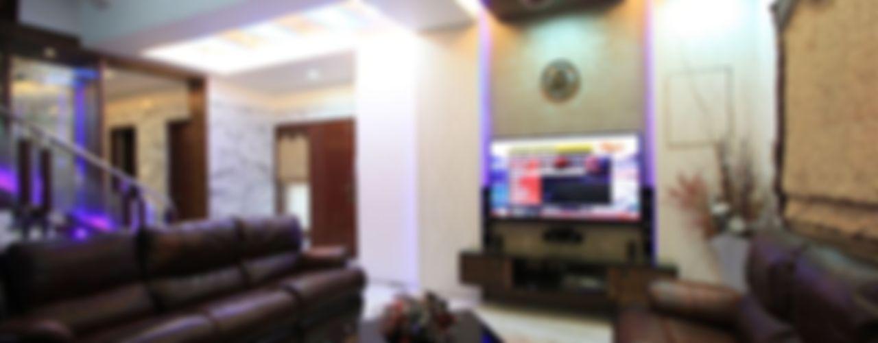 Ansari Architects Moderne Wohnzimmer