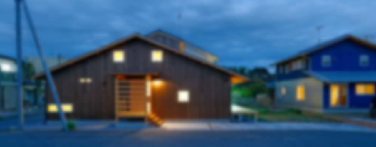高野量平アーキテクツ一級建築設計事務所 Ryohei Takano Architects Rumah Gaya Asia