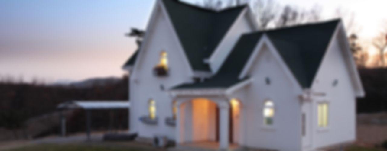 동화 속에 나오는 언덕 위 나의 집(충주 괴동리) 윤성하우징 스칸디나비아 주택