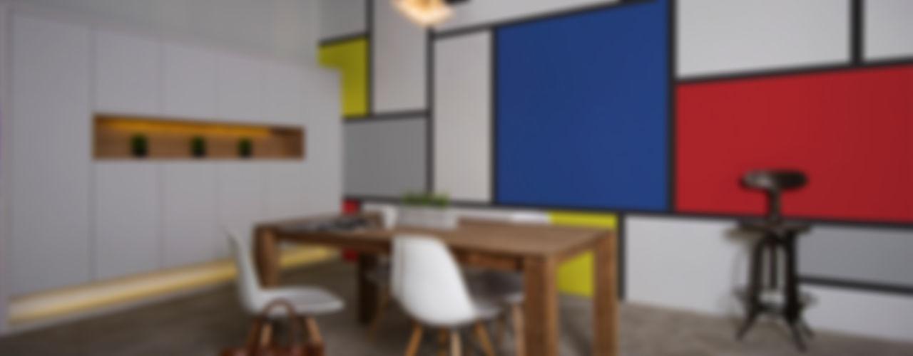 Dining room Pixers Comedores minimalistas Multicolor