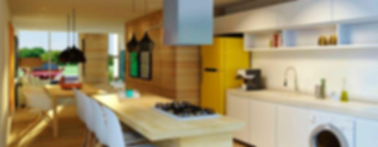 hola Cocinas de estilo moderno