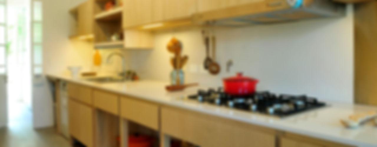 Paula Herrero | Arquitectura 現代廚房設計點子、靈感&圖片 合板