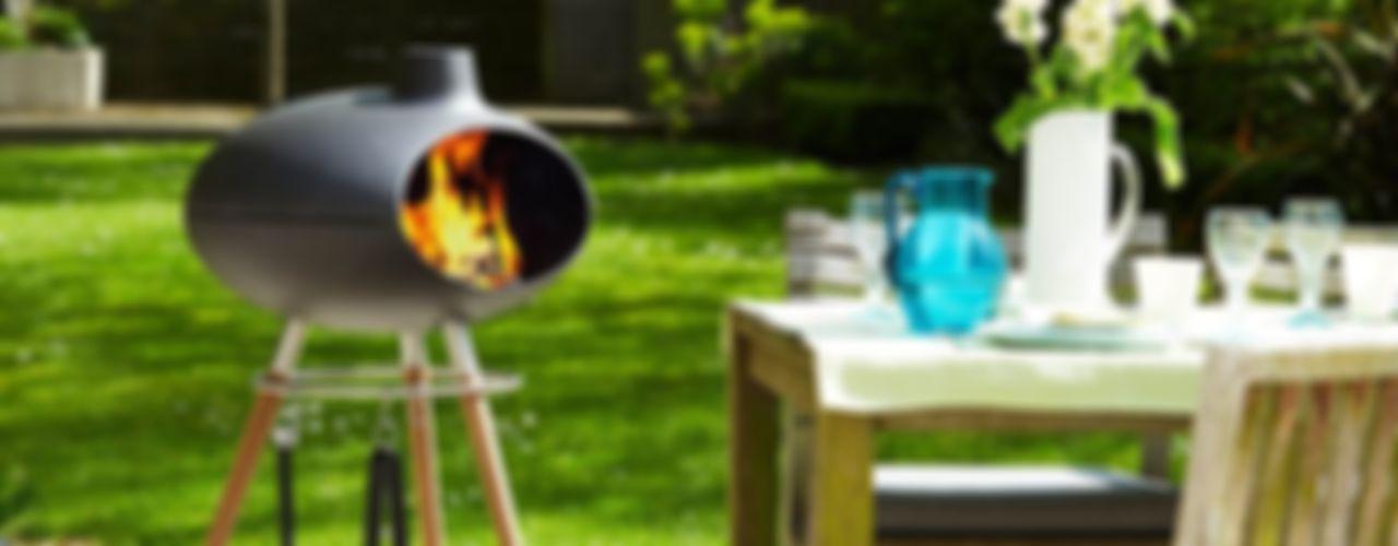 Outdoor living range Heritage Morso 花園火坑與燒烤