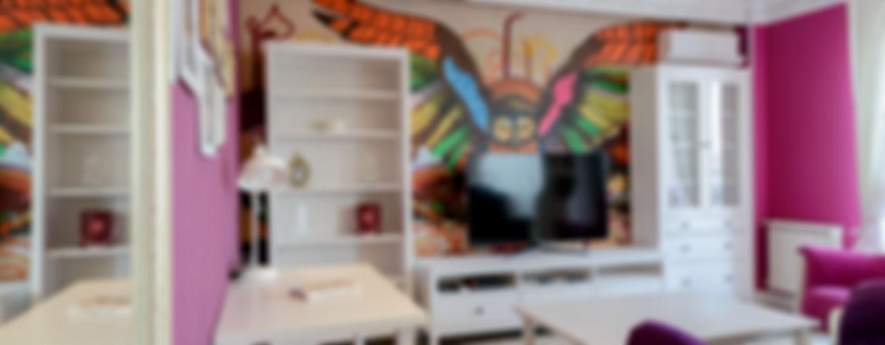 MARIA MELNICOVA студия SIERRA Living room White
