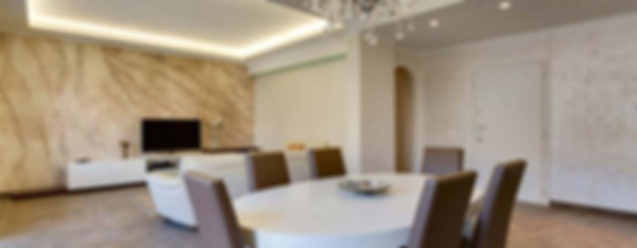 Ristrutturazione appartamento Roma, Prenestino Facile Ristrutturare Sala da pranzo moderna