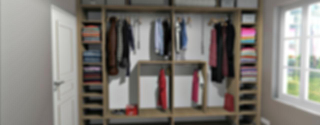 MJ Intérieurs Closets rústicos