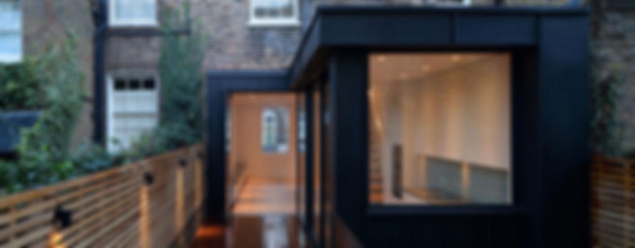 St Paul Street Ciarcelluti Mathers Architecture Minimalist house Metal Black