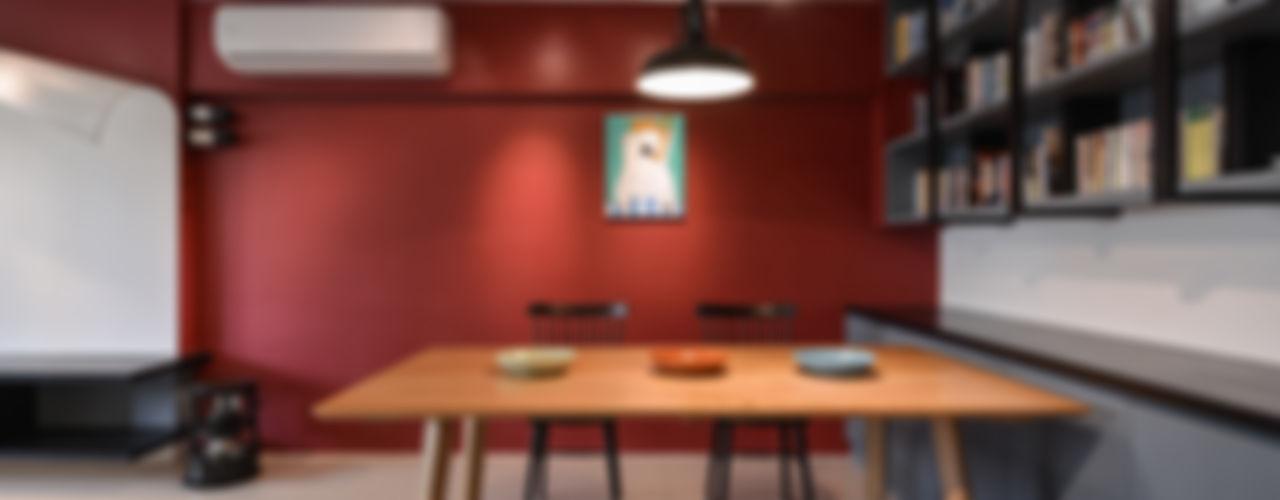 存果空間設計有限公司 Eclectic style dining room