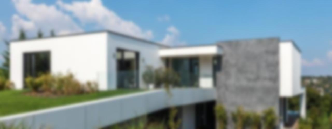 IDEAL WORK Srl Modern houses Concrete Grey