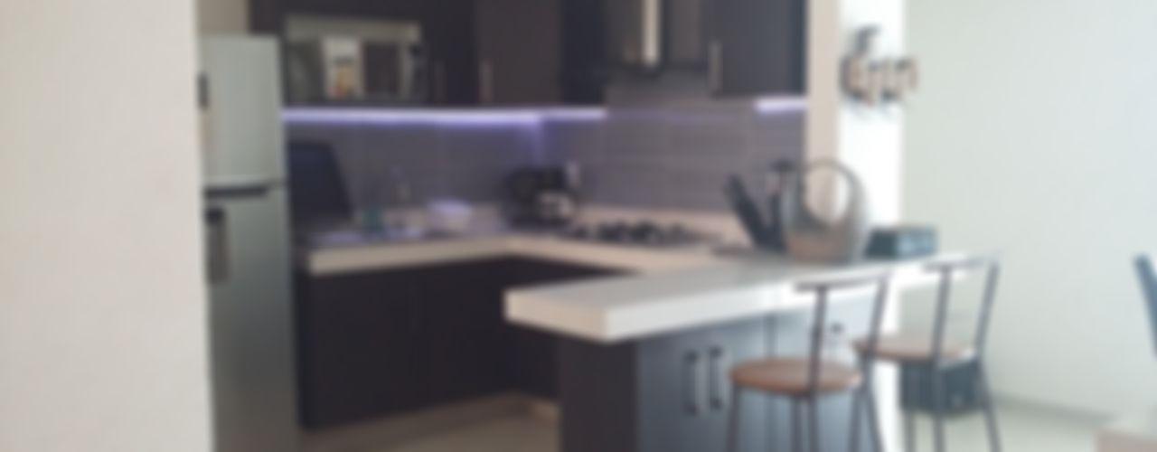 Depto Orion Maref Arquitectos Cocinas equipadas