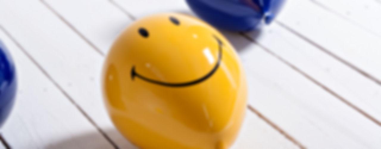 Creativando Srl - vendita on line oggetti design e complementi d'arredo 嬰兒/兒童房裝飾品 陶器 Yellow