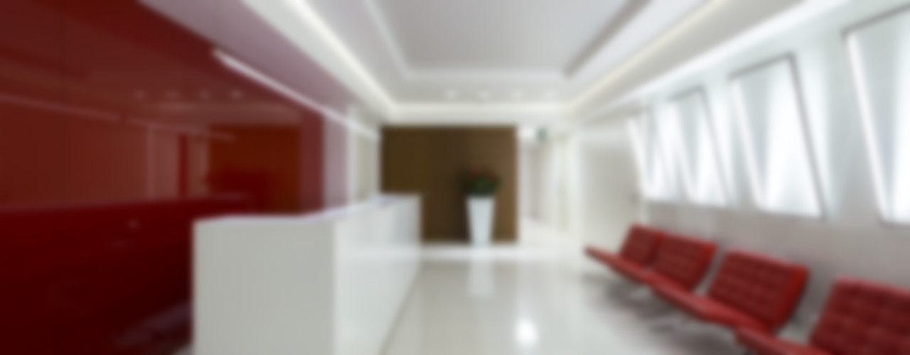 Luxury office fit out, supply of luxury bespoke furniture and fittings, Yakimanka, Moscow Tognini Bespoke Furniture Walls & flooringWall & floor coverings Wood Red