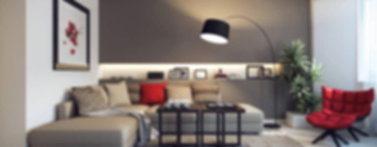 translation missing: eg.style.غرفة-المعيشة.eclectic غرفة المعيشة تنفيذ Design Studio Details