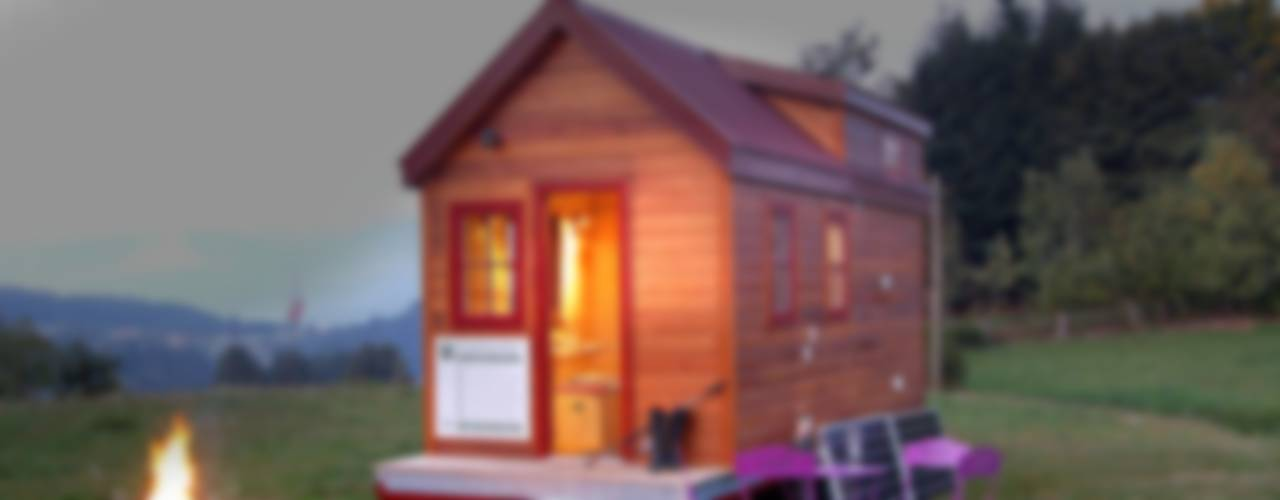 eclectic Houses by TINY HOUSE CONCEPT - BERARD FREDERIC