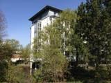 Flur mit Erker:  Krankenhäuser von Architekturatelier Biermann