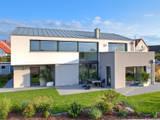 Haus M - Stutensee: moderne Häuser von lc[a] la croix [architekten]