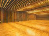 Sala multimediale in stile  di 一級建築士事務所たかせao