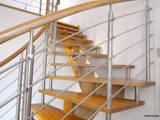 Individuelle Details setzen Highlights:   von STREGER Massivholztreppen GmbH