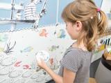 Bilderpaar-Detail der Spielwand »Angelteich«:   von Büro Köthe