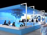Concurso de Anteproyectos - Stand Argentino para Feria ARCOmadrid 2017: Salas multimedia de estilo moderno por Arq. Jose F. Correa Correa