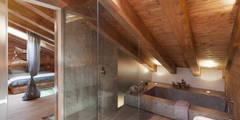 Projekty,  Łazienka zaprojektowane przez archstudiodesign