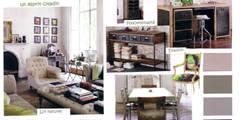 Projet Appartement Haussmannien: Salon de style de style Moderne par APPART-DECOHOME