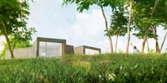 Exterior museo - Imagen 3D:  de estilo  de Icaras 3D