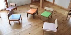 Child chair: trusty wood worksが手掛けたです。