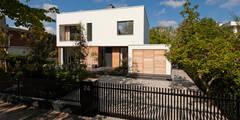Villa Amsterdam Zuid: moderne Huizen door paul seuntjens architectuur en interieur