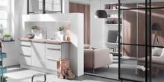 Raumteiler Küche: moderne Küche von Elfa Deutschland GmbH