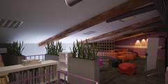industriële Mediakamer door Polovets & Tymoshenko design studio