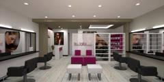 Proyecto para reforma de peluquería en Málaga: Oficinas y Tiendas de estilo  de C2INTERIORISTAS