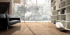 moderne Wand & Boden von Timberplan