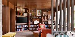 Bureau de style de style Moderne par Hugh Jefferson Randolph Architects