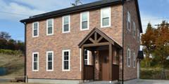 北欧のテイストを取り入れたお家・*: 株式会社 盛匠が手掛けた家です。