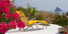 Casa Menne, Panarea, Aeolian Islands, Sicily :  Terrace by Adam Butler Photography