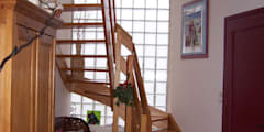 entrée de la maison :  de style  par Emilie Bigorne, architecte d'intérieur CFAI