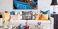 Mes tableaux dans les ambiances déco: Salon de style de style Classique par NetWorking Blog déco