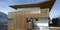 Casas de estilo minimalista por Burnazzi  Feltrin  Architects