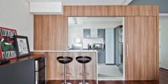 Salas de estilo minimalista por Laranja Lima Arquitetura