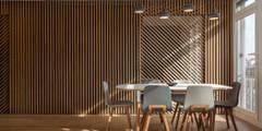 Buttes Chaumont: Salle à manger de style de style Moderne par Agence Glenn Medioni
